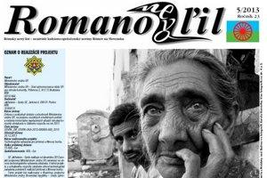 Piate číslo novín Romano Nevo Ľil