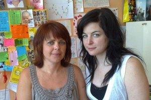 Eleonóra Liptáková a Erika Polgáriová.