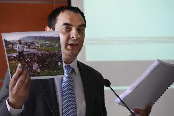 Vládny splnomocnenec pre rómske komunity Peter Pollák.