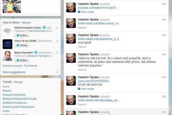 Bývalý šéf ČSSD Vladimír Špidla čelí útokom hackerov.