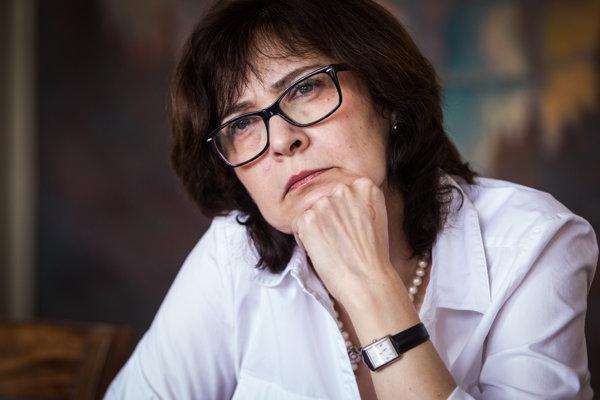 Nová ministerka Lucia Žitňanská.