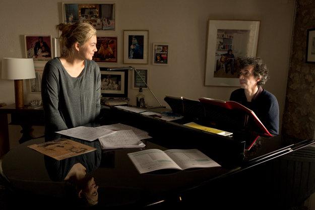 Rodinka Bélier  film, kde znie pekný francúzsky hlas.