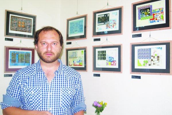 Pre Lea Vaniša je aktuálna výstava v Nitre jeho piatou.