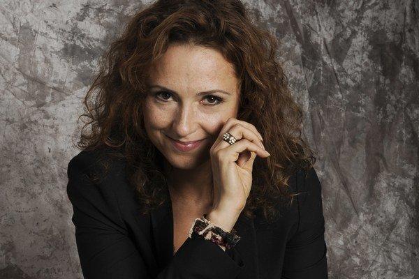 Slovenská herečka Zuzana Mauréry (46).