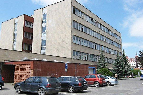 Mestská poliklinika v Dubnici nad Váhom.
