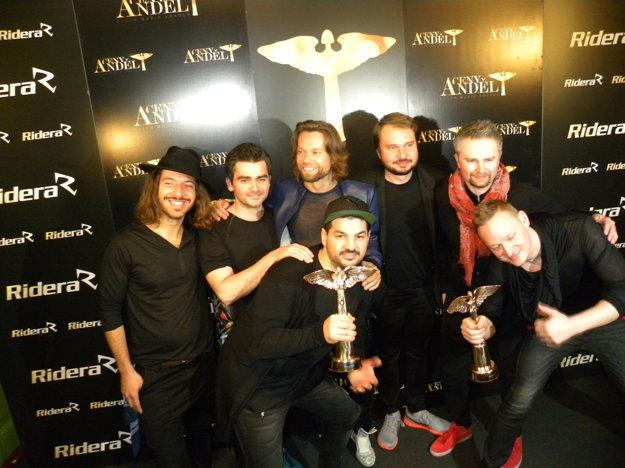 Dve ceny Anděl získala aj kapela Kryštof.