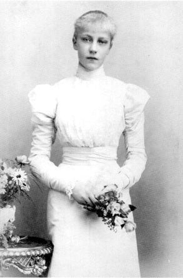 Erzsi. Arcivojvodkyňa Alžbeta Mária Rakúska, Habsbursko-Lotrinská, dcéra Štefánie a Rudolfa.