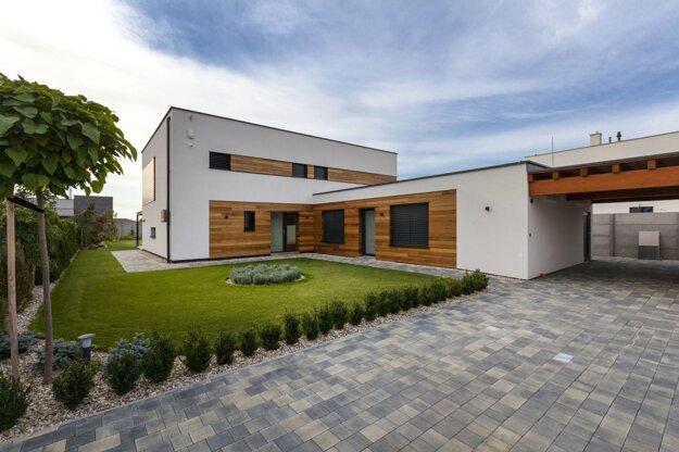 Ocenený dom postavili pri Bratislave.