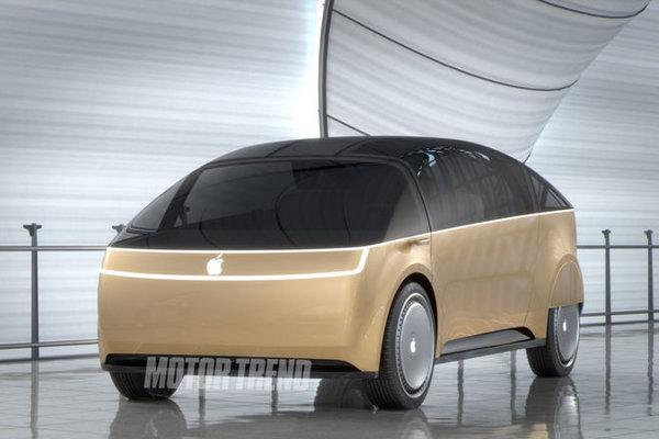 Takto si predstavujú Apple auto dizajnéri z vysokej školy ArtCenter v Kalifornii.