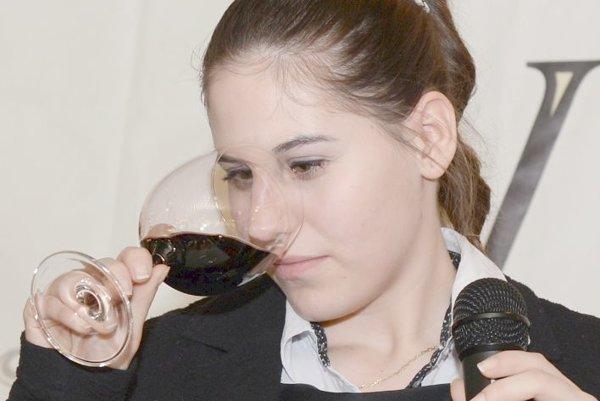 Nina Šallaiová na  súťaži  Vitis Trophée  Junior 2016