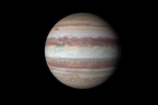 Vedci z NASA objavili zmeny v atmosfére Jupiteru