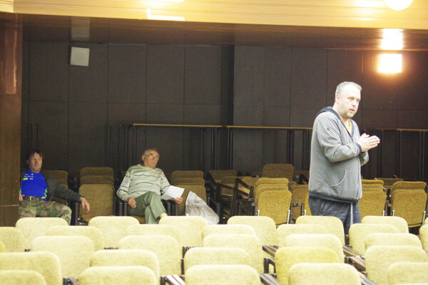 Členovia stolnotenisového klubu prišli problém vysvetliť aj na zasadnutie zastupiteľstva.