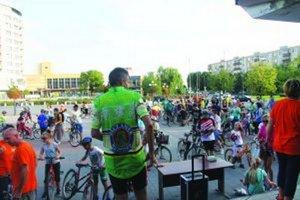 O cyklojazdu po Galante bol záujem.