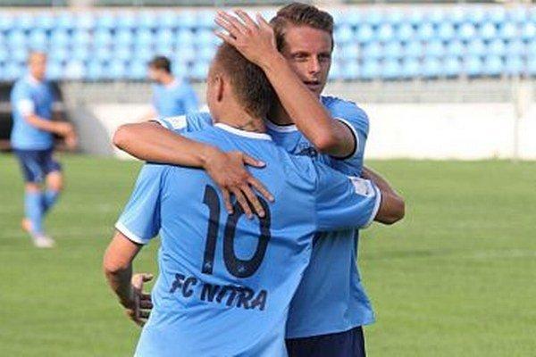 Adam Morong (10) sa tešil z troch gólov, Matúš Paukner pridal jeden.