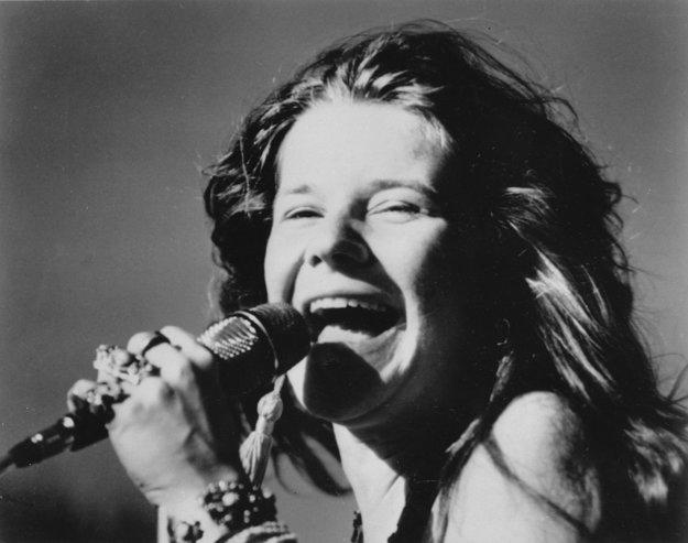 Fenomenálna Janis Joplin.