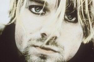 Frontman skupiny Nirvana Kurt Cobain.