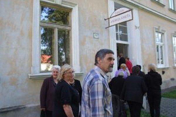 Pamätná izba Andreja Kmeťa je v bývalej základnej škole.