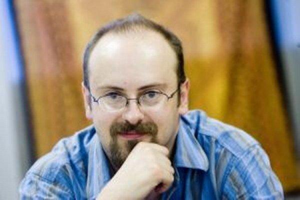 Spisovateľ Juraj Červenák.