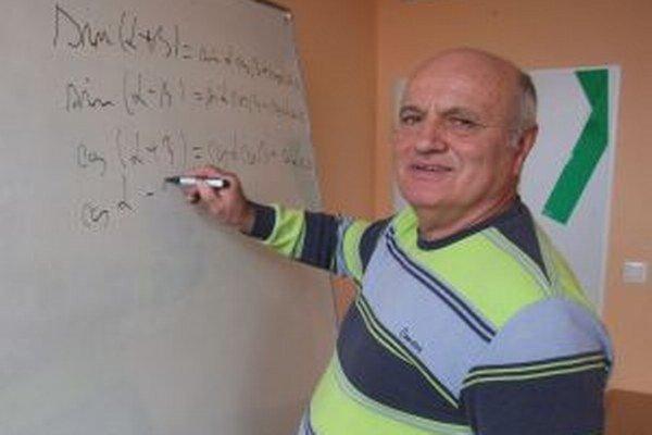 Žiarsky matematikár je v súťaži Zlatý Amos priebežne na druhom mieste.