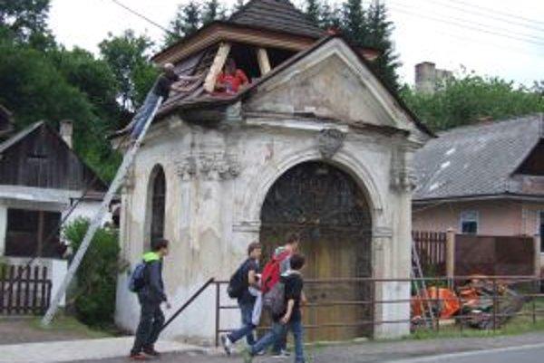 Kaplnka sv. Jána Nepomuckého vo Svätom Antone.