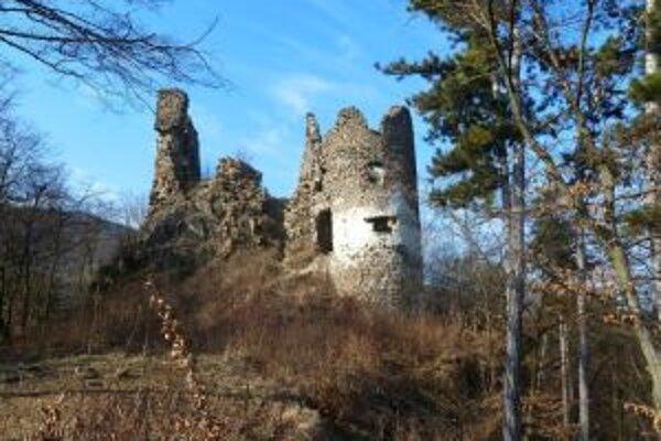 Hrad Revište patrí v rámci Slovenska k hradom v najhoršom stave.