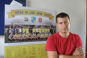 Rastislav Štanga. Manažér klubu verí, že Žiar/L. Vieska bude ako nováčik hrať vyrovnanú partiu.