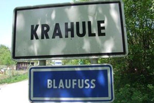 Je otázne, či označenia Blaufuss a Kuneschau zostanú v Krahuliach či Kunešove aj naďalej.