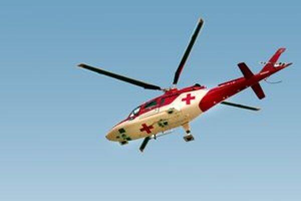 V lyžiarskom stredisku na Sklake aj dnes zasahovali leteckí záchranári.