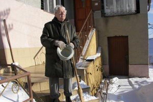Irena Balíková verí, že na budúci rok sa problém s kanalizáciou vyrieši.