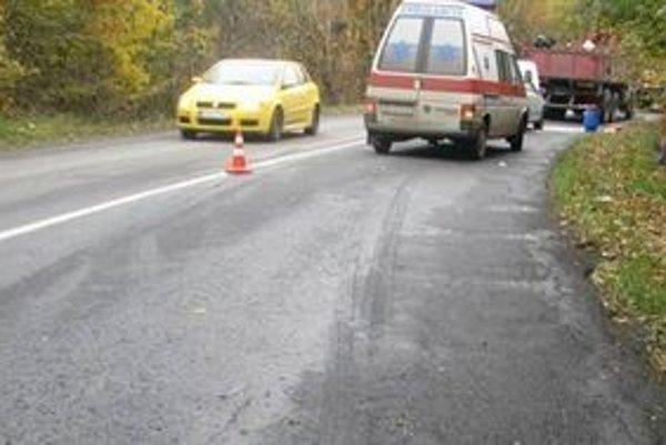 Nehodu pri Banskej Belej spôsobil opitý vodič sanitky.