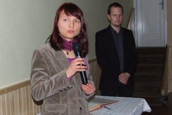 Viktória Dzurenková, režisérka dokumentu Nebojím sa hovoriť.