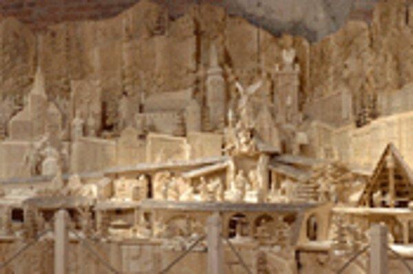 Betlehem zobrazuje vývoj, históriu a tradície Banskej Štiavnice.