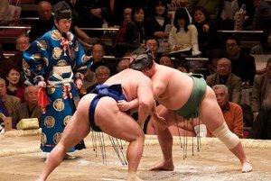 Zápasníci sumo. (Ilustračný snímok)