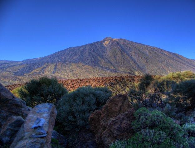 Sopka Teide