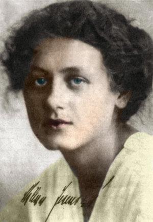 Milena Jesenská (1896 - 1944).