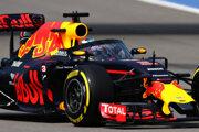 Daniel Ricciardo počas voľného tréningu na Veľkej cene Ruska.