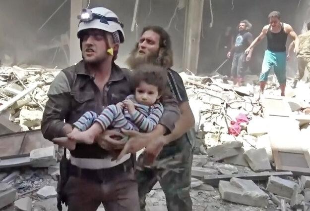Prímerie v Aleppe nevidno.