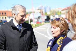 Ján Figeľ a Anna Remiášová