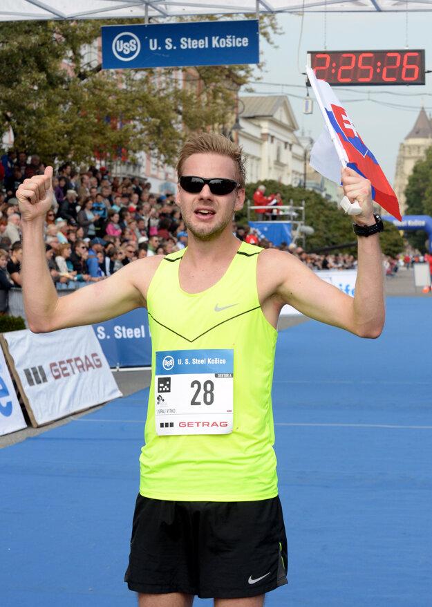 Juraj Vitko za olympijským limitom zaostáva o necelé dve minúty.