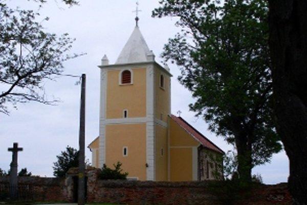 Názov pamiatky: Kostol sv. Margity  <br/>Adresa pamiatky: Malá Mača, okr. Galanta