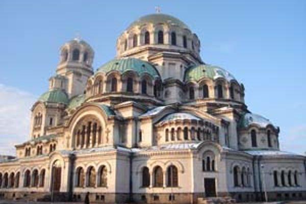 Katedrála Alexandra Nevského v Sofii.