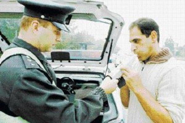 Detektory na zisťovanie drog sú drahšie ako tie na alkohol.