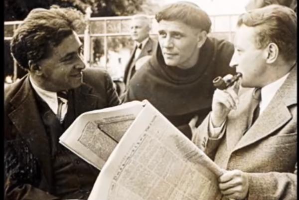 Slovenskí spisovatelia na Kongrese slovenských spisovateľov vroku 1936.