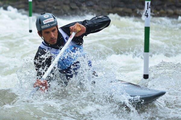Matej Beňuš si vyskúšal päťkrát olympijský kanál v Rio de Janeiro.