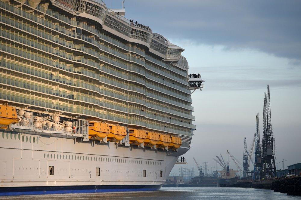 Harmony of the Seas patrí do najväčšej triedy výletných lodí -  Oasis. Okrem nej sem patria Oasis of the Seas a Allure of the Seas.
