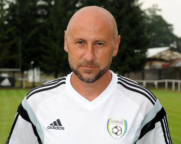 Tréner Pohronia Rastislav Urgela.