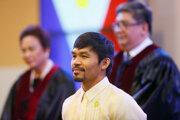Manny Pacquiao sa stal senátorom.