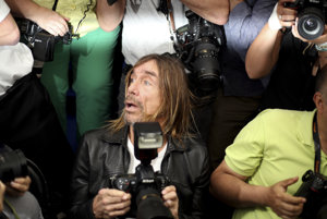 Iggy Pop v Cannes.