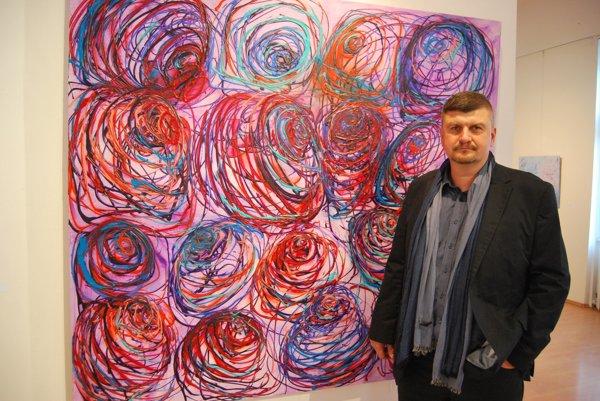 Marko Vrzgula žije vpestrom svete farieb.
