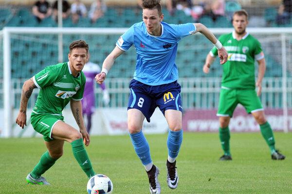 Dorastenec Filip Balaj strelil svoj piaty gól v sezóne medzi dospelými.